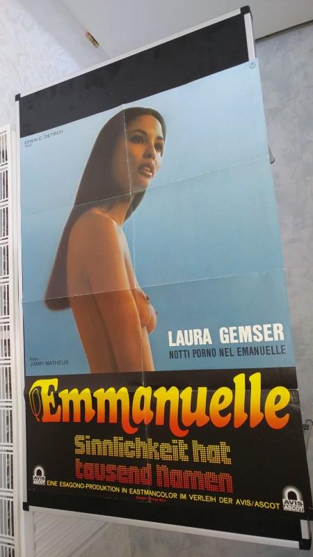 Emanuelle - Sinnlichkeit hat tausend Namen / Org.Plakat A1