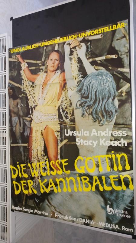 Die weisse Göttin der Kannibalen / Org.Plakat A1