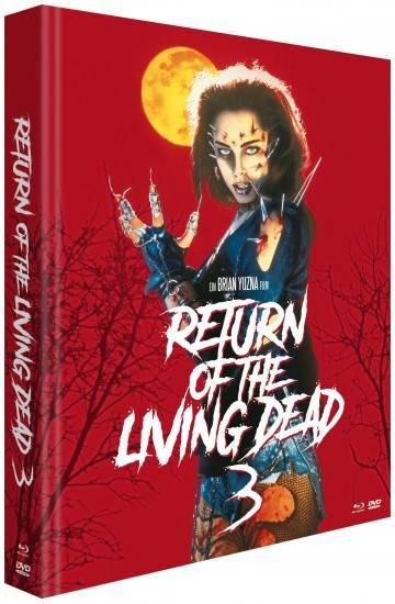 Return of the Living Dead 3 (3-Disc-Mediabook) Koch NEU