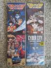 Anime Manga Sammlung: 3x3 Eyes, Mad Bull, Cyber City (4 VHS)
