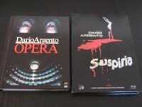 Suspiria & Opera - Blu-Ray - Mediabook - 2x Dario Argento