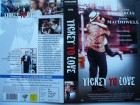 Ticket to Love ... Andy Garcia, Andie MacDowell  ... VHS