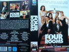 Four Rooms ... Tim Roth, Antonio Banderas ...   VHS