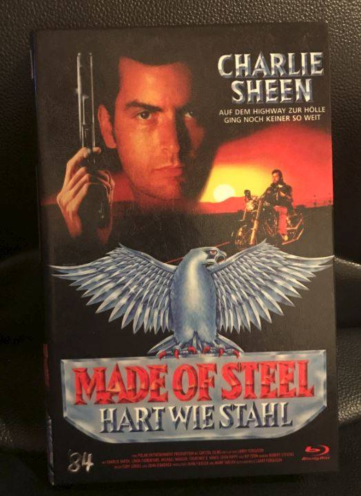 Made of steel - Bluray - Hartbox *Wie neu*