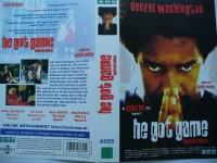 He Got Game ... Denzel Washington, Milla Jovovich ... VHS