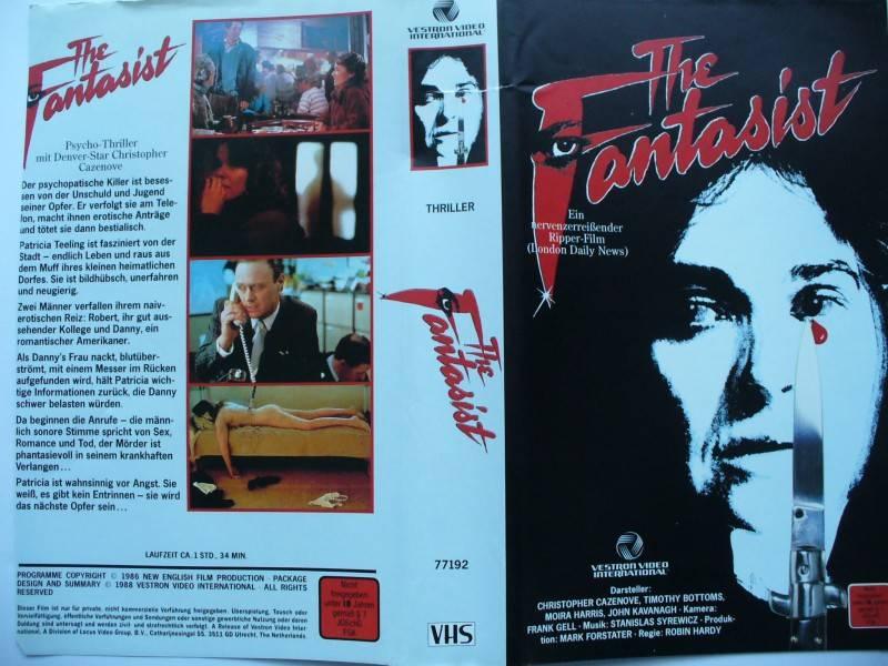 The Fantasist ... Timothy Bottoms  ... VHS ... FSK 18