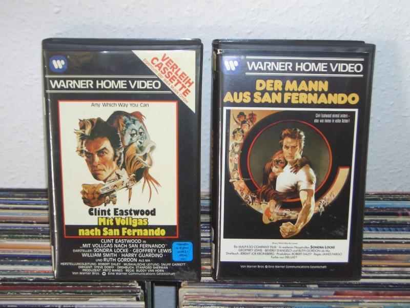 San Fernando 1+2 Eastwood Warner Verleih Großbox