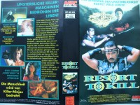 Resort to Kill ... Roddy Piper  ... VHS ... FSK 18