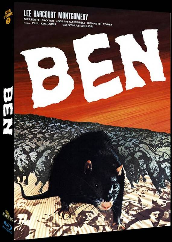 Ben - Mediabook A (Blu Ray) Anolis NEU/OVP