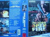 Mission Open Fire ... Jeff Wincott ... VHS  ... FSK 18