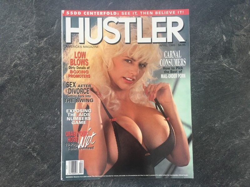 US HUSTLER - April 1989 _________________26