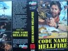 Code Name Hellfire ... Robert Ginty  ... VHS ... FSK 18