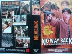 No Way Back - Die ultimative Menschenjagd ... VHS ...FSK 18