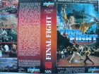 Final Fight ... Jet Lee  ... VHS ... FSK 18