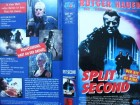 Split Second ... Rutger Hauer  ... VHS ...  FSK 18