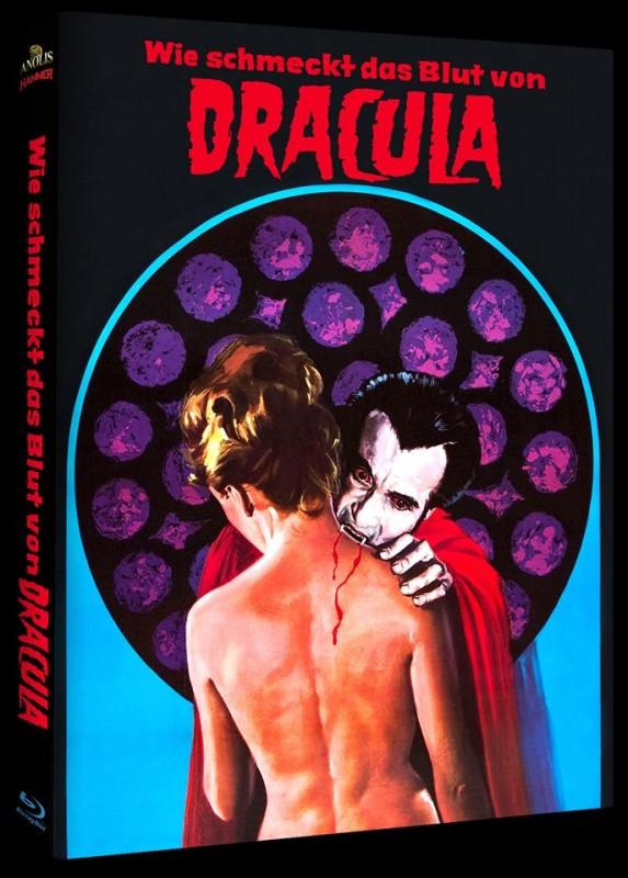 WIE SCHMECKT DAS BLUT VON DRACULA - Blu-ray Mediabook B OVP