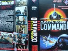 Delta Force Commando ... Brett Clark  ... VHS ...  FSK 18