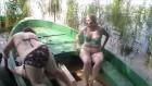 Zwei dicke Omas im Golf-Urlaub
