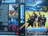 T - Force ... Jack Scalia, Evan Lurie ...  VHS ... FSK 18
