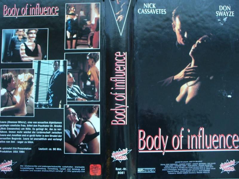 Body of Influence ... Nick Cassavetes ... VHS ... FSK 18