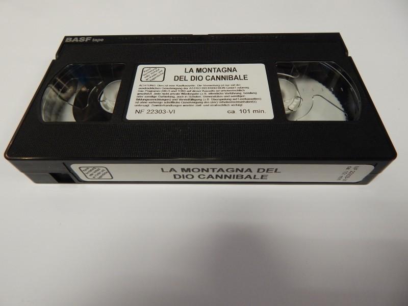 Die Weisse Göttin der Kannibalen VHS Uncut Astro Video Origi