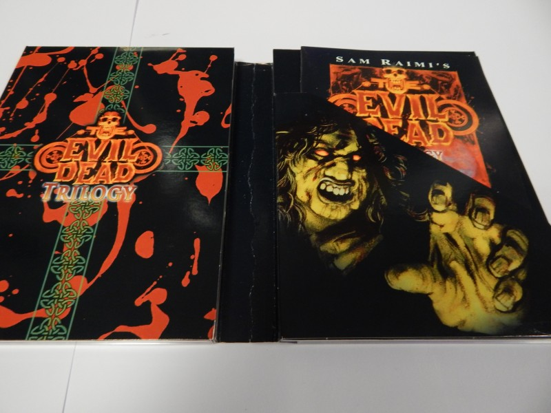 The Evil Dead Trilogy The Definitive Collection limited 0748
