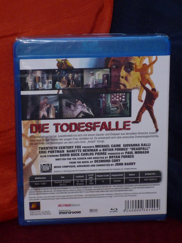 Die Todesfalle - Deadfall (1968) Pretty Gold Prod. [BD] OVP!
