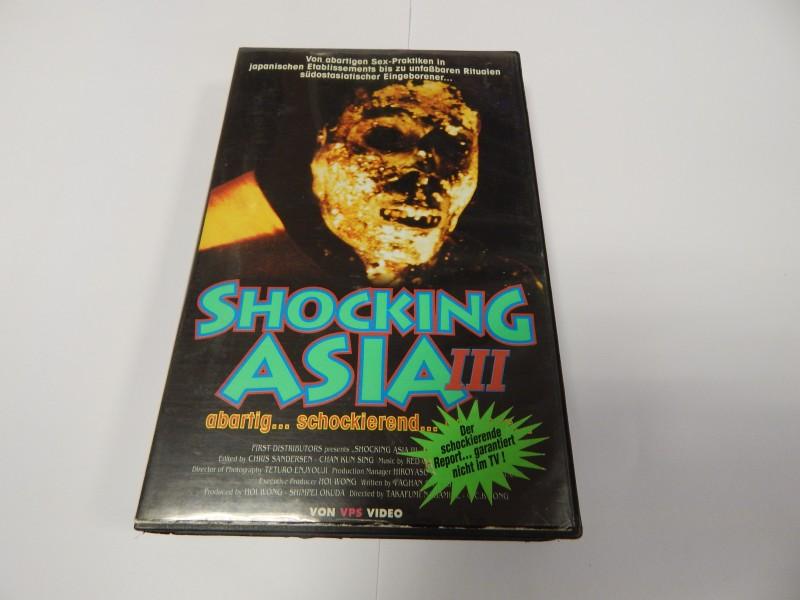 Shocking Asia 3 Abartig Schockierend III  VHS ca 94min