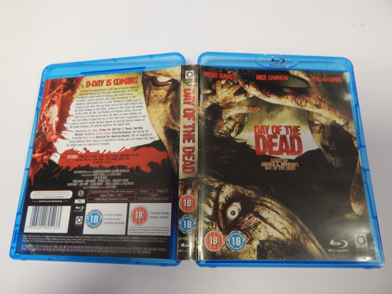 Day of the Dead Blu ray Englisch Version 86min Region B