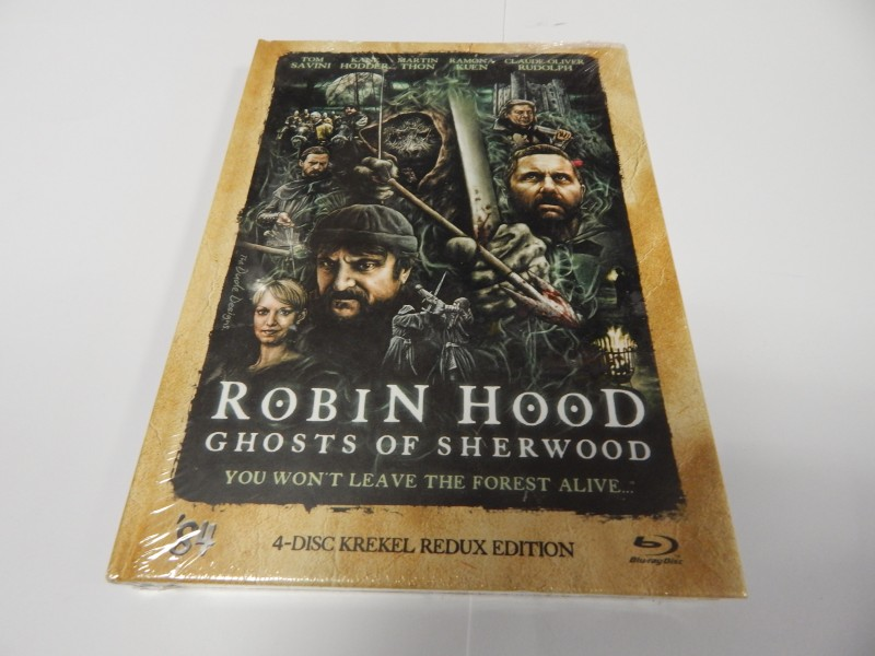 Robin Hood Ghosts of Sherwood Mediabook Neu Nr 338 v. 500