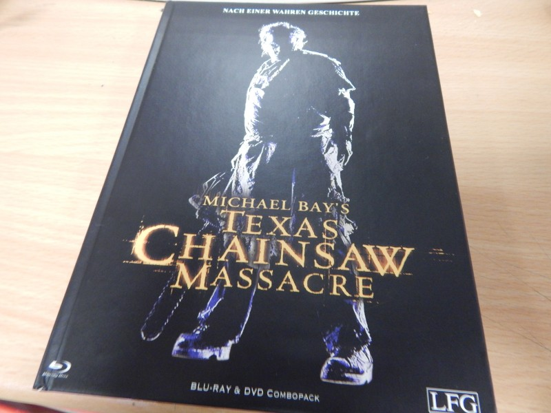 Texas Chainsaw Massacre Mediabook Blu ray Limited 500