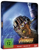 Avengers: Infinity War Steelbook  3D + 2D Blu-ray Limit. NEU