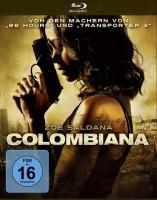Colombiana (Blu-ray) Zoe Saldana UNGESCHNITTEN