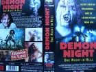 Demon Night - One Night in Hell ... VHS ...FSK 18