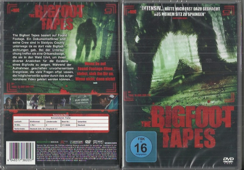 The Bigfoot Tapes  (500255445 NEU ,Konvo91