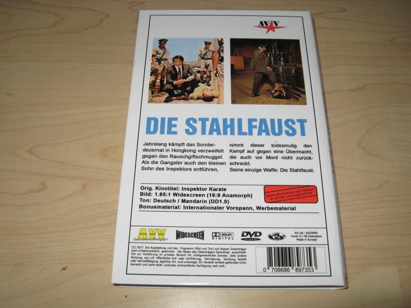 "Die Stahlfaust  ""gr. Hartbox""  AVV"
