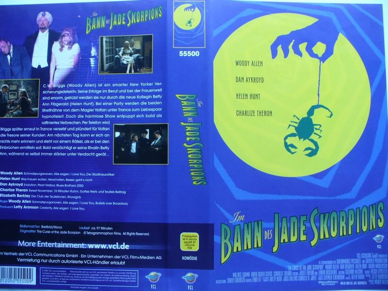 Im Bann des Jade Skorpions ... Woody Allen  ... VHS