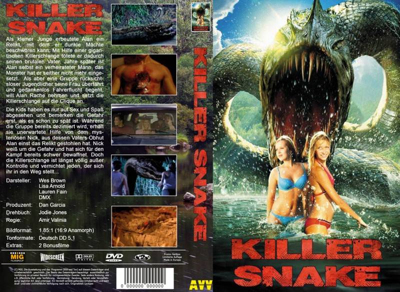 Killer Snake - gr Hartbox Lim 50 Neu