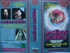 Das Ende der Welt ... Christopher Lee  ... VHS