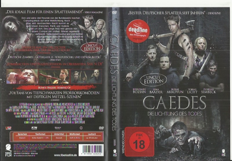 Caedes - Die Lichtung des Todes(00155445 Horror Konvo91