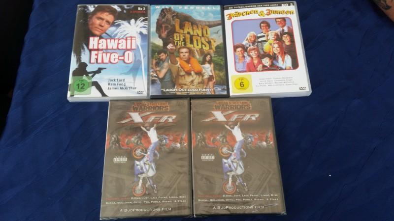 Special Interest / Film DVD - Paket  / Konvolut