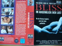 Bliss - Im Augenblick der Lust ... Craig Sheffer  ...  VHS