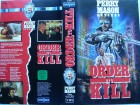 Perry Mason - Order to Kill ... Raymond Burr  ... VHS
