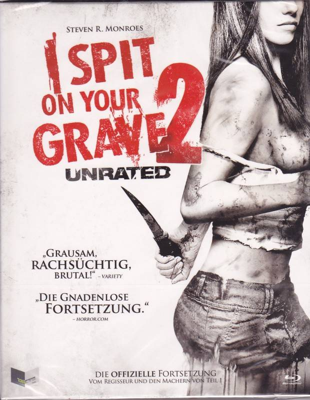 Blu Ray Illusions I spit on your grave 2 Pappschuber UNCUT