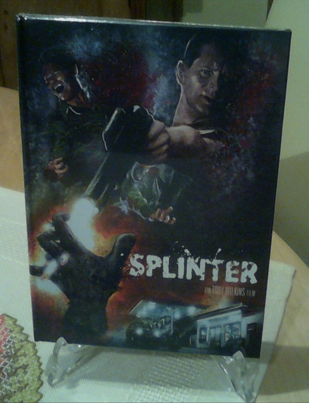 Splinter Mediabook Ovp.