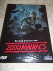 2000 MANIACS UNCUT DVD HARTBOX NEU / OVP