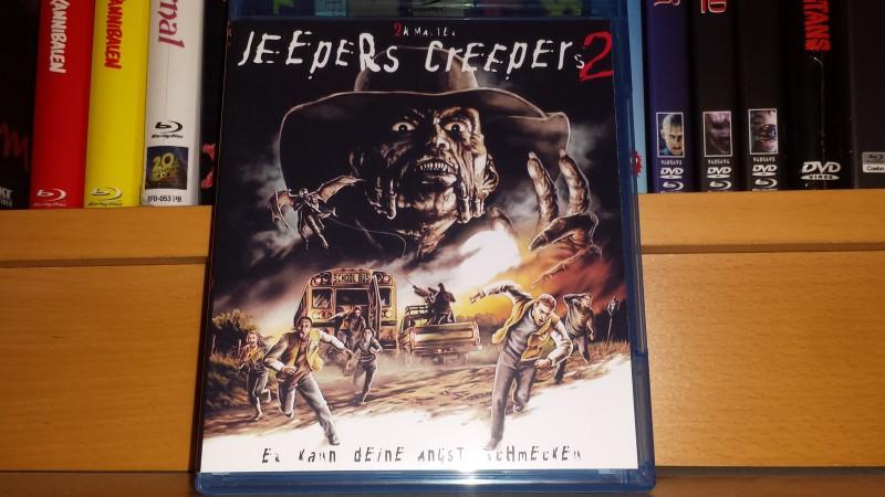 Jeepers Creepers 2 - BD Amaray - Neu - no 84 XT NSM
