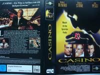 Casino ... Robert DeNiro, Sharon Stone, Joe Pesci ...   VHS
