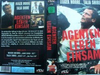 Agenten leben einsam ... Roger Moore, Talia Shire  ... VHS
