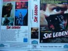 John Carpenter´s  Sie Leben ... Roddy Piper ... VHS